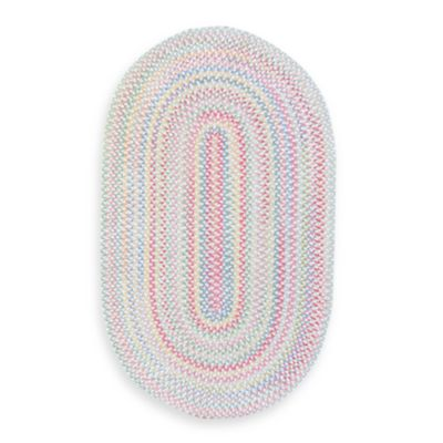 Cutting Garden Oval 4-Foot x 6-Foot Area Rug in Lily