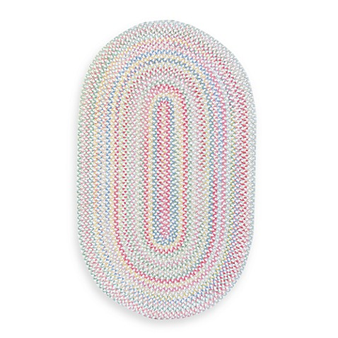 Cutting Garden Oval Rug in Lily