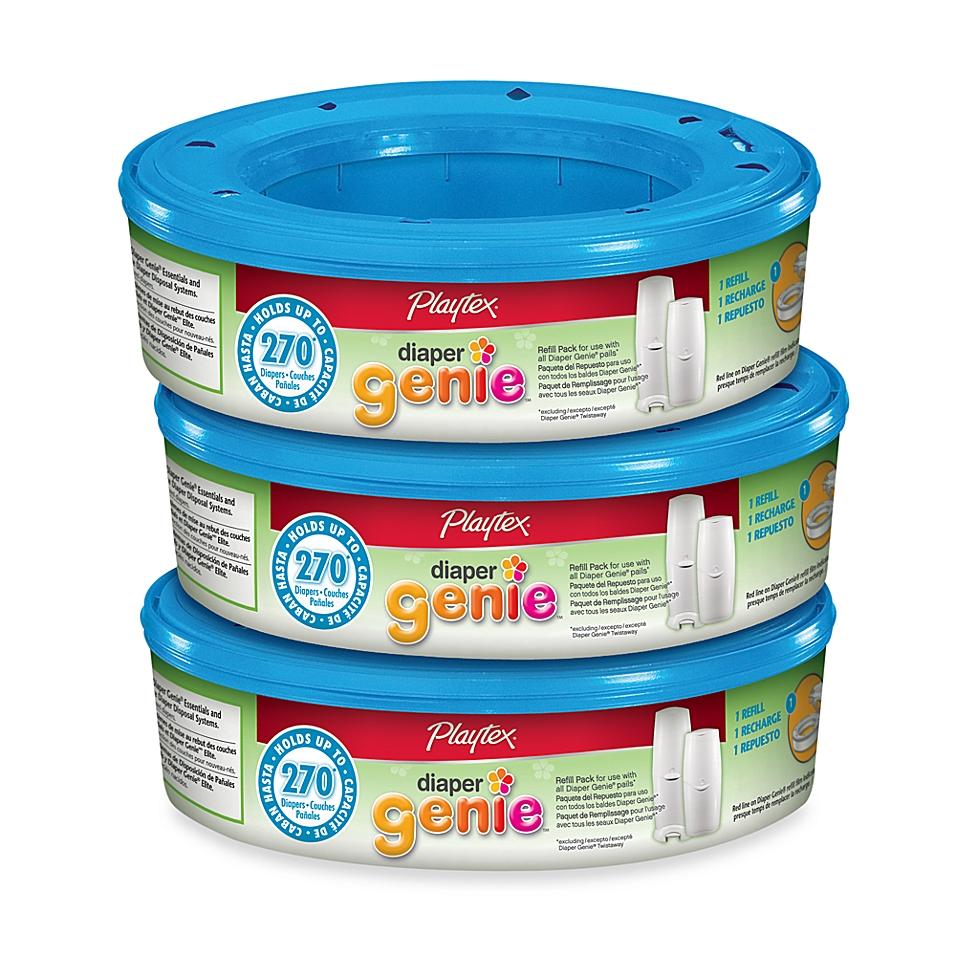 Playtex® Baby Diaper Genie® 3-Pack Refills - buybuyBaby.com