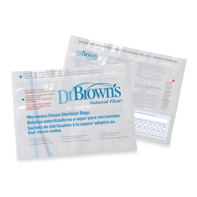 Dr. Brown's Nature Flow® Microwave Steam Sterlizer Bags