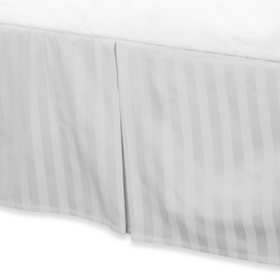 Wamsutta® 500 Damask Queen Bed Skirt in White