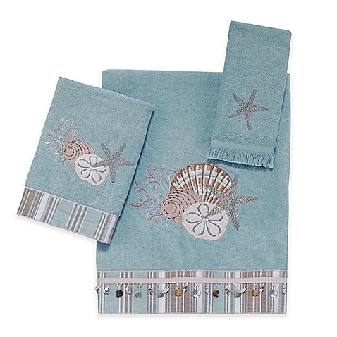 Avanti By The Sea Hand Towel in Mineral