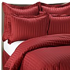 Wamsutta® 500 Damask Duvet Cover Set in red