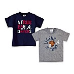 MLB Atlanta Braves Diapers Tee Shirt - 18 Months