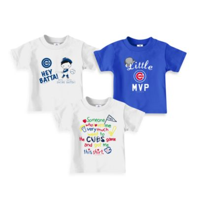 Mlb > MLB Chicago Cubs Loves Tee Shirts - 4T