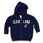 MLB Cleveland Indian Embroidered Hoodie, 100% Cotton