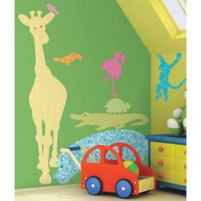 RoomMates Animal Silhouette Peel & Stick Applique in Multi-Colored