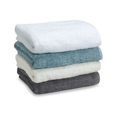 Blue Organic Cotton Towels