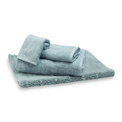 Portico Washcloth in Sky Blue
