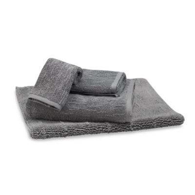 Portico Washcloth in Grey