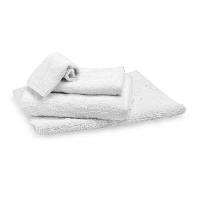 Portico Bath Towel in White