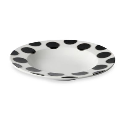 Cru Intl by Darbie Angell Black Pearl 8-Inch Soup Bowl