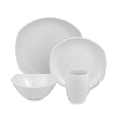 Dansk® Classic Fjord 4-Piece Place Setting in White