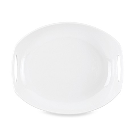Dansk® Classic Fjord 11.5-Inch Serving Platter in White