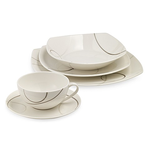 Mikasa® Geometric Circles 5-Piece Place Setting