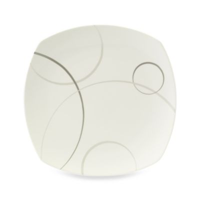 Mikasa® Geometric Circles Square Platter