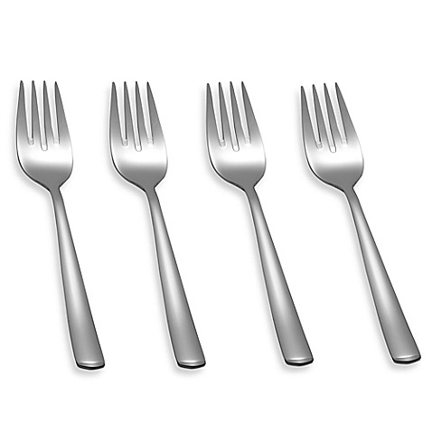 buy wmf bistro salad forks set of 4 from bed bath beyond. Black Bedroom Furniture Sets. Home Design Ideas