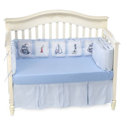 Whistle & Wink™ High Seas 3-Piece Crib Bedding Set