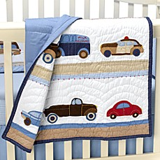 Whistle & Wink™ Cars and Trucks Baby Quilt