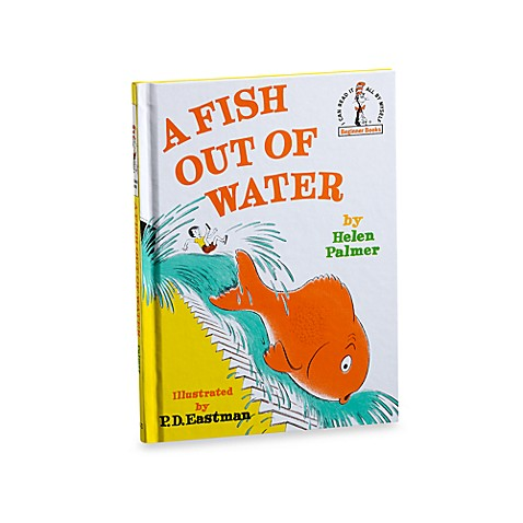 Books dr seuss 39 fish out of water book from buy buy baby for A fish out of water book