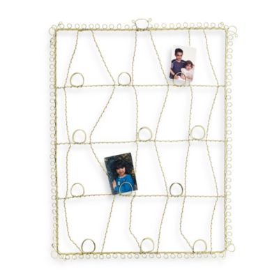 Glenna Jean Madison Antique Wire Memory Board in Green