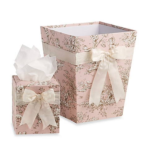 Glenna Jean Madison Tissue Cover and Waste Basket