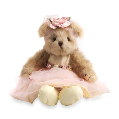 Glenna Jean Madison Plush 10-Inch Prima Donna Bear