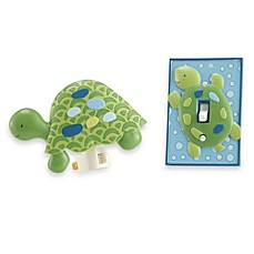 CoCaLo Baby® Turtle Reef Nightlight and Switch Plate Cover