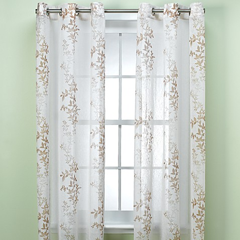 Anya Silhouette Sheer Window Panel