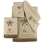 Avanti Banana Palm Bath Towel in Linen
