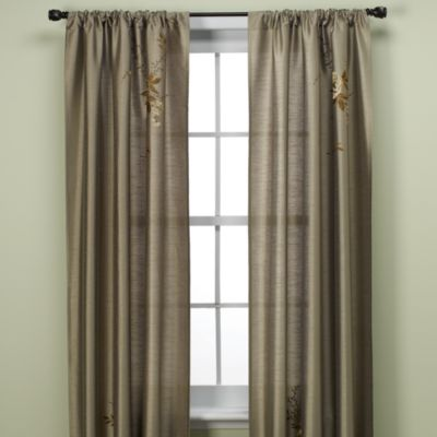 Alesandra 84-Inch Tailored Window Curtain Panel in Sage