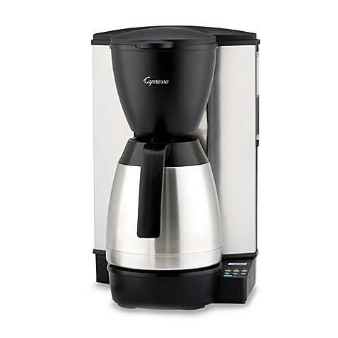 Capresso® MT600 Plus 10-Cup Programmable Coffee Maker with Thermal Carafe