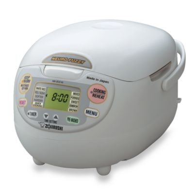 Zojirushi Neuro Fuzzy® 4-Cup Rice Cooker & Warmer
