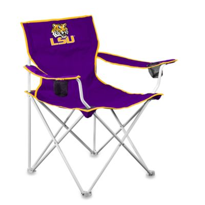LSU Deluxe Folding Chair
