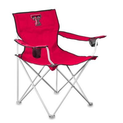 Texas Tech University Deluxe Folding Chair