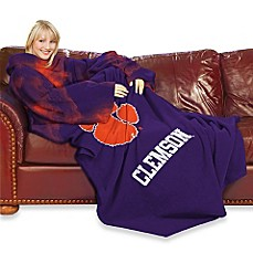 Clemson University Comfy Throw™ with Sleeves