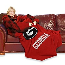University of Georgia Comfy Throw™ with Sleeves