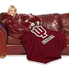 Indiana University Comfy Throw™ with Sleeves
