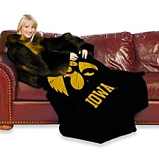 University of Iowa Comfy Throw™ with Sleeves