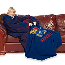 University of Kansas Comfy Throw™ with Sleeves
