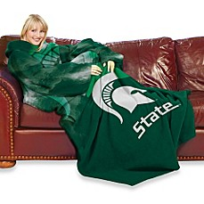 Michigan State Comfy Throw™ with Sleeves