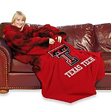 Texas Tech University Comfy Throw™ with Sleeves