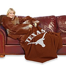 University of Texas Comfy Throw™ with Sleeves