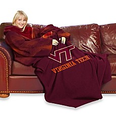 Virginia Tech Comfy Throw™ with Sleeves