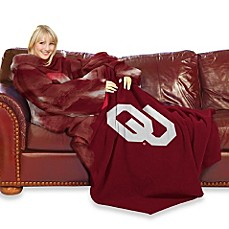 University of Oklahoma Comfy Throw™ with Sleeves