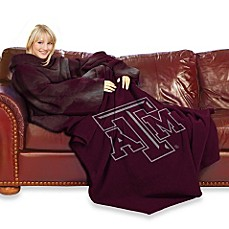 Texas A & M University Comfy Throw™ with Sleeves
