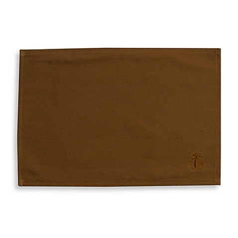 Tommy Bahama® Palm Tree Placemat in Brown
