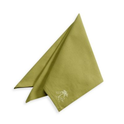 Tommy Bahama® Palm Tree Napkin - Olive
