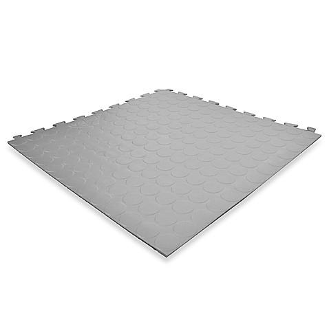 Versatile Proseal Pvc Floor Tiles Gray 24 Tiles Bed