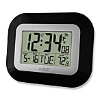 La Crosse Technology Black Sleek 9-Inch Atomic Clock